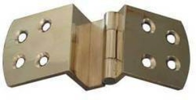 ADVANCE W HINGES Case Hinge(SATIN LACOR, STEEL FINISH, BRASS ANTIQUE Pack of 1)
