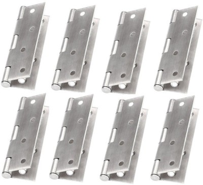 JBS Dshfksj789 Butt/Mortise Hinge(Silver Pack of 8)