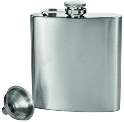 True Fabrications Plain Hip Flask