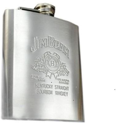 Jimbeam Wisemart Hip Flask
