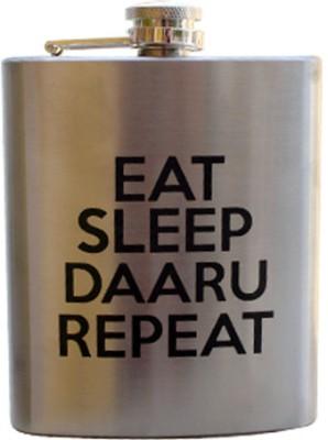 Keep Calm Desi Hip Flask