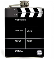 Nutcase Filmy People Stainless Steel Hip Flask(250 ml)