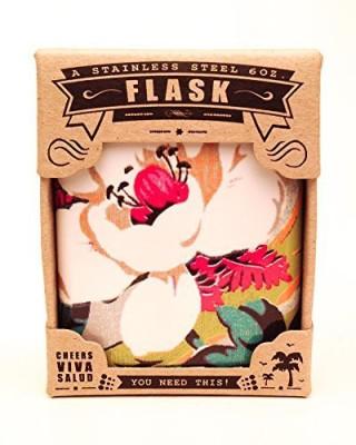 The Life Imagined Plain Hip Flask