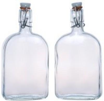 Amici Clear Hip Flask