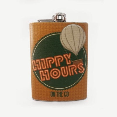 The Big Bag Theory Stainless Steel Hip Flask