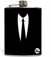 Nutcase Suit Up ! Stainless Steel Hip Flask(207 ml)