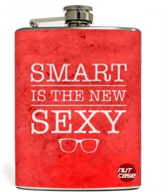 Nutcase SMART SEXY Stainless Steel Hip Flask(207 ml)