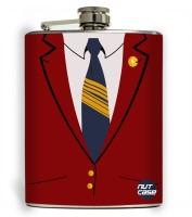 Nutcase Get Suited Stainless Steel Hip Flask(207 ml)
