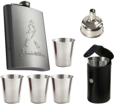 Soy Impulse Jhonnie Walker 6 Pcs Bar Set Hip Flask
