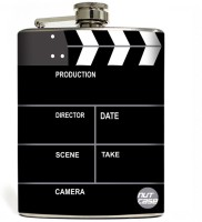 Nutcase For Filmys Only Stainless Steel Hip Flask(207 ml)