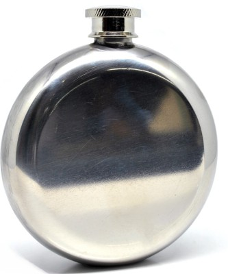 Soy Impulse Stainless Steel Round Hip Flask