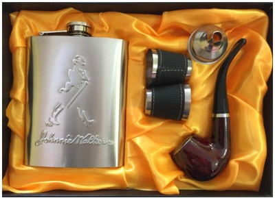 Soy Impulse Bar Set of 5 Jhonnie Walker Stainless Steel Hip Flask