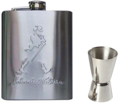 Soy Impulse Peg Measurer and Stainless Steel Jhonnie walker Hip Flask