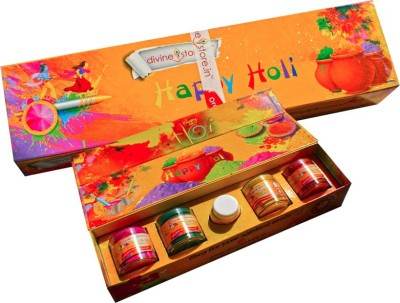 Divine Store Holi Color Powder Pack of 4