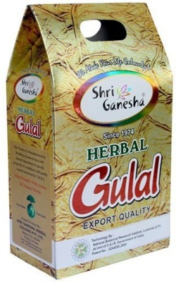 Shri Ganesha Herbal Gulal Holi Color Powder Pack of 5(Green, Blue, Yellow, 700 g)