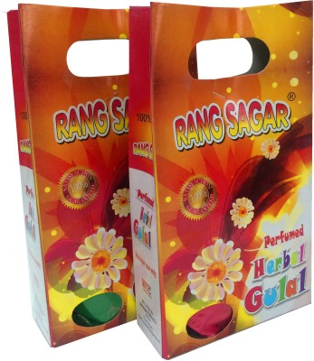 Gayatri Creations Holi Color Powder Pack of 2