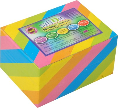 Sattvic Holi Color Powder Pack of 1(Pink, Orange, Blue, Green, Yellow, 500 g)