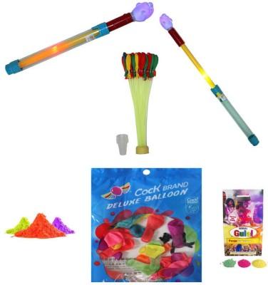 SAF Pichkari, Color, Balloon Holi Combo