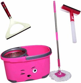 ThunderFit pinksimleymop27 Home Cleaning Set