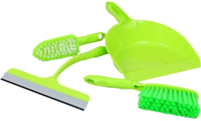 Houzfull C1-DustPanSetGreen Home Cleaning Set