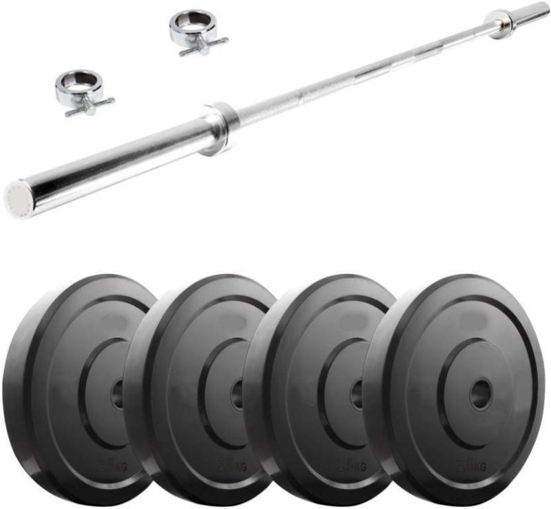 Star X 40 kg PVC unbreakbale plates bieceps set Home Gym Combo(40 - 60 kg)