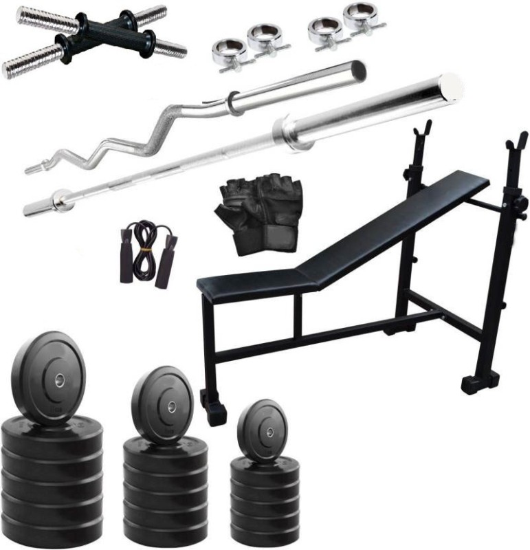 Star X 70 kg Home Gym Combo PVC material Home Gym Combo(60 - 80 kg)