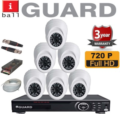 Iball 8ch HD Hybrid DVR 8 Channel Home Security Camera