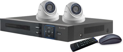BLAZE 1.3 MP HD CCTV and DVR Combo Pack 2 Channel Home Security Camera