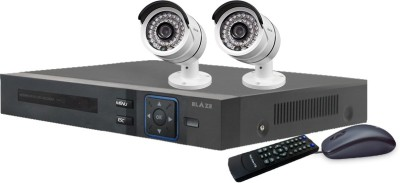 BLAZE 1.3MP HD CCTV and DVR Combo Pack 2 Channel Home Security Camera