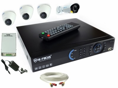 Hi-Focus DVR 4 Channel Home Security Camera
