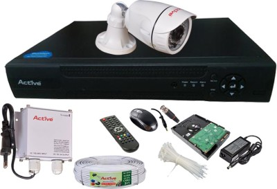 Active Feel Free Life AHD Full Combo, AHD 1.3MP Bullet Camera 1Pcs + 1TB HDD + Active Cable + AHD DVR 4 Channel Home Security Camera