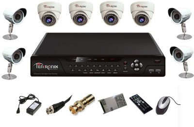 Tentronix-T-8CH-8-DB8-8Channel-DVR-+-4-Dome-+-4-Bullet-CCTV-Cameras