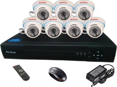 Active Feel Free Life AHD Combo, 7 AHD Camera + AHD DVR 8 Channel Home Security Camera