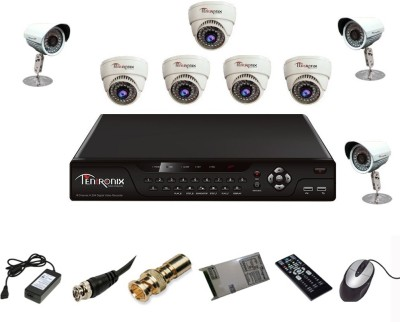 Tentronix AHD DVR System 8 Channel Home Security Camera
