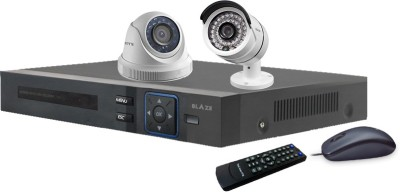 BLAZE CCTV SYSTEM 4 Channel Home Security Camera