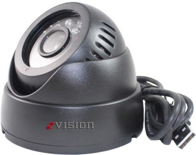 Zvision USB Port Night Vision CCTV DVR with Memory Card Slot Recordin 1 Channel Home Security Camera