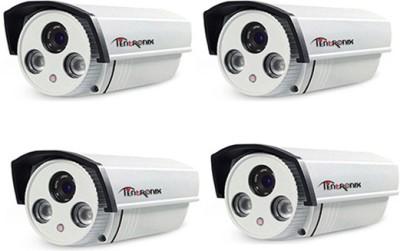 Tentronix SY-4B-AR2DPT1 720P HD Array AHD Bullet CCTV Cameras (4 Pcs)