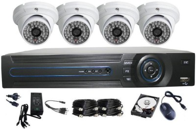 Jetview AHD SYSTEM 4 Channel Home Security Camera
