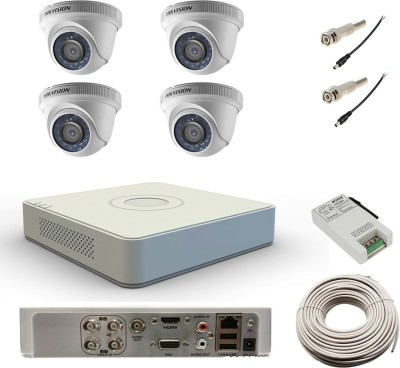 Hikvision-DS-7104HWI-SH-4Channel-DVR-+-4-Dome-CCTV-Camera