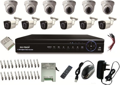 PG-TECH 16 Channel Home Security Camera
