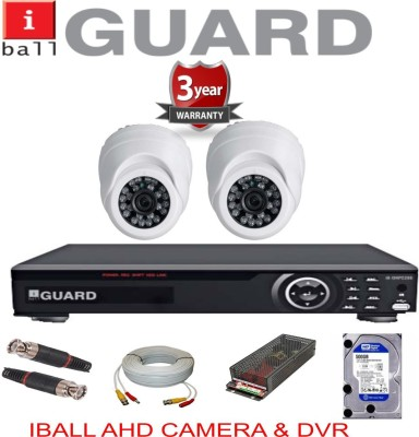 Iball 4ch CCTV Camera Kit 4 Channel Home Security Camera