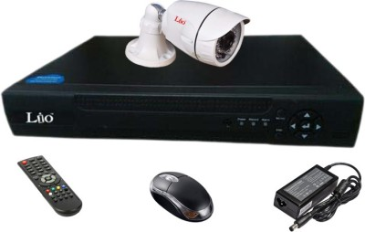 Lio Ahd Combo, 1mp Ahd Bullet 36ir Camera 1pcs + Lio Ahd Dvr 4 Channel Home Security Camera