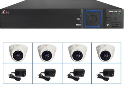 Xper CCTV 4CAM SMART KITHR 4 Channel Home Security Camera