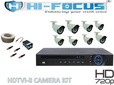 Hi-Focus HCVR 8 Channel Home Security Camera