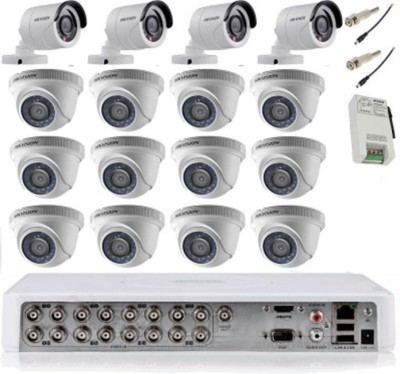 Hikvision Digital Video Recorder 16 Channel Home Security Camera