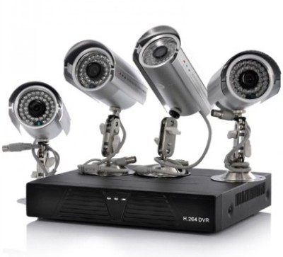 Shrih 4 Channel Home Security Camera