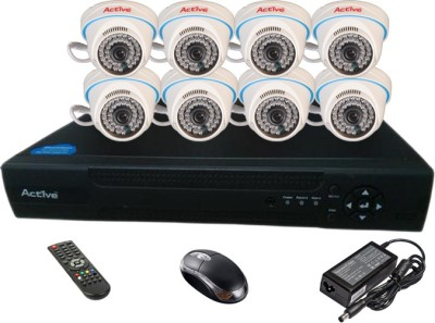 Active Feel Free Life AHD Combo, 8 AHD Camera + AHD DVR 8 Channel Home Security Camera