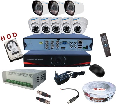 magnum elite mag-combo-ahd8-500gb 8 Channel Home Security Camera