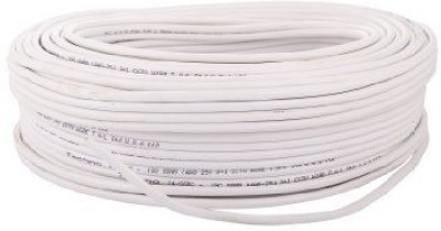 CP Plus 100% Pure Solid Copper Cable PVC Wire Connector(White, Pack of 1)