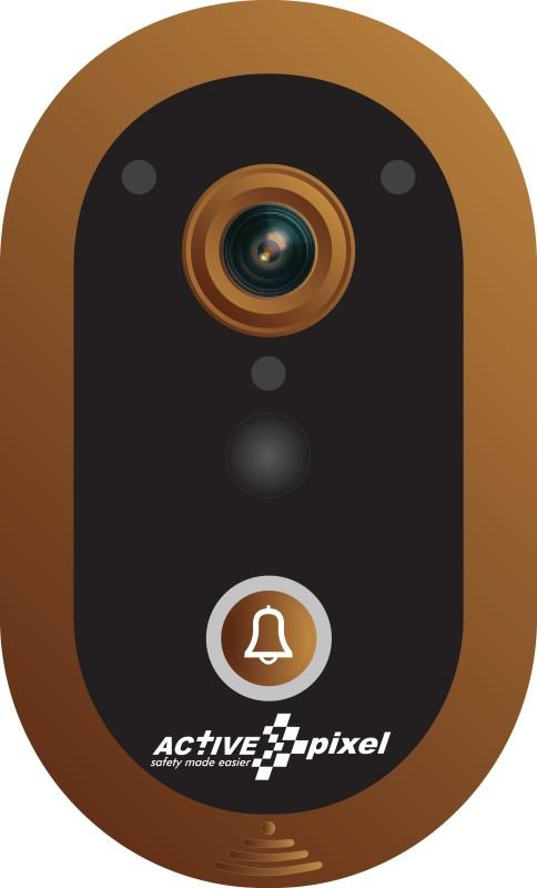 Active Pixel WiFi Smart Wireless Video Doorbell with Door Lock/Unlock...